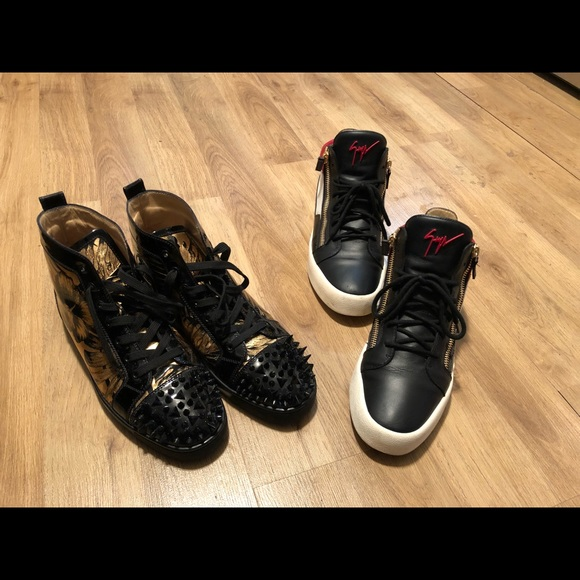 9dbb2fb0a623f Christian Louboutin Shoes   Louboutins Giuseppe Zanotti Lv Scarf ...